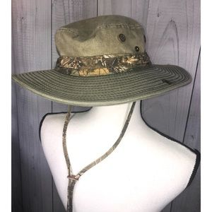 STETSON Boonie Hat Fishing Hunting Outdoor Camo M